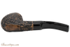 Peterson Aran XL90 Bandless Rustic Tobacco Pipe Bottom
