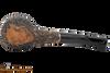 Peterson Aran B11 Bandless Rustic Tobacco Pipe Bottom