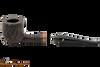 Peterson Aran 606 Bandless Rustic Tobacco Pipe Apart