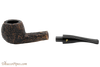 Peterson Aran 408 Bandless Rustic Tobacco Pipe Apart