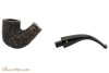 Peterson Aran 338 Bandless Rustic Tobacco Pipe Apart