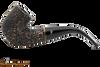 Peterson Aran 338 Bandless Rustic Tobacco Pipe