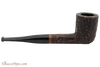 Peterson Aran 120 Bandless Rustic Tobacco Pipe Right Side