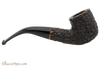 Peterson Aran 01 Bandless Rustic Tobacco Pipe Right Side