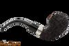 Peterson Sherlock Holmes Lestrade Rustic Tobacco Pipe PLIP Right Side