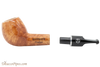 Rattray's Outlaw 141 Natural Smooth Tobacco Pipe Apart