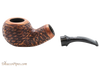 Chacom Reverse Calabash Rustic Tobacco Pipe Apart