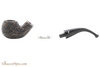 Peterson Dublin Filter XL02 Rustic Tobacco Pipe Fishtail Apart