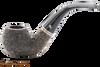 Peterson Dublin Filter 03 Rustic Tobacco Pipe Fishtail