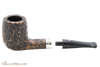 Peterson Short 264 Rustic Tobacco Pipe Fishtail Apart