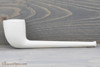 Old German Clay Pipe 1 White Finish