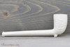 Old German Clay Pipe 11 White Finish Right Side