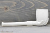 Old German Clay Pipe 19 White Finish Right Side