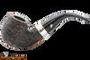 Peterson Short 230 Rustic Tobacco Pipe Fishtail