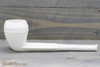 Old German Clay Pipe 12 White Finish