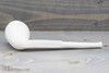 Old German Clay Pipe 12 White Finish Bottom