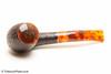 Savinelli Tortuga Rustic 626 Tobacco Pipe with Cap