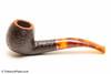 Savinelli Tortuga Rustic 626 Tobacco Pipe Left Side