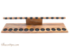Neal Yarm Mahogany 12 Pipe Stand