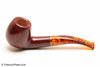 Savinelli Tortuga Smooth Briar 626 Tobacco Pipe Left Side