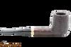 Savinelli New Oscar 128 Rustic Brown Tobacco Pipe Right Side
