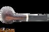 Savinelli New Oscar 141 KS Rustic Brown Tobacco Pipe Bottom