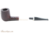 Savinelli New Oscar 141 KS Rustic Brown Tobacco Pipe Apart