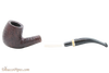 Savinelli New Oscar 606 KS Rustic Brown Tobacco Pipe Apart