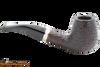 Savinelli New Oscar 628 Rustic Brown Tobacco Pipe Right Side