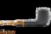 Savinelli Tigre Rustic Black 114 KS Tobacco Pipe Right Side