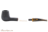 Savinelli Tigre Rustic Black 145 KS Tobacco Pipe Apart