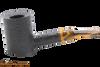Savinelli Tigre Rustic Black 311 KS Tobacco Pipe