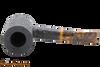 Savinelli Tigre Rustic Black 311 KS Tobacco Pipe Top