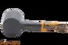 Savinelli Tigre Rustic Black 311 KS Tobacco Pipe Bottom