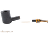 Savinelli Tigre Rustic Black 311 KS Tobacco Pipe Apart