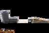 Savinelli  Tigre Rustic Black 409 Tobacco Pipe Apart