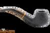 Savinelli Tigre Rustic Black 645 KS Tobacco Pipe Right Side