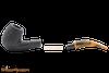 Savinelli Tigre Rustic Black 670 KS Tobacco Pipe Apart