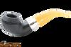 Peterson Rosslare Royal Irish Sandblast 999 Tobacco Pipe - Fishtail