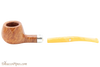 Peterson Kapp Royal 406 Tobacco Pipe Fishtail Apart