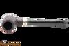 Peterson Specialty Barrel Rustic Nickel Mounted Tobacco Pipe PLIP Top