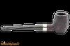 Peterson Specialty Barrel Rustic Nickel Mounted Tobacco Pipe PLIP Right Side