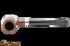 Peterson Specialty Barrel Smooth Nickel Mounted Tobacco Pipe PLIP Top