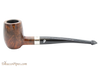 Peterson Specialty Barrel Smooth Nickel Mounted Tobacco Pipe PLIP