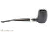 Peterson Specialty Barrel Ebony Silver Mounted Tobacco Pipe PLIP Right Side