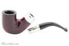 Peterson Red Spigot 338 Tobacco Pipe Fishtail Apart