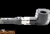Peterson Ebony Spigot 606 Tobacco Pipe Fishtail Right Side
