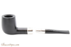 Peterson Ebony Spigot 15 Tobacco Pipe Fishtail Apart