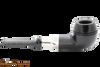 Peterson Ebony Spigot 150 Tobacco Pipe Fishtail Right Side