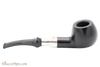 Peterson Ebony Spigot 408 Tobacco Pipe Fishtail Right Side
